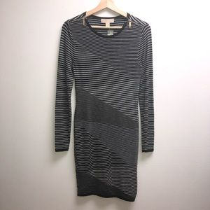 Michael Kors XS Sweater Dress zippers